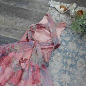 Alfred Angelo blush wedding MOTB guest dress
